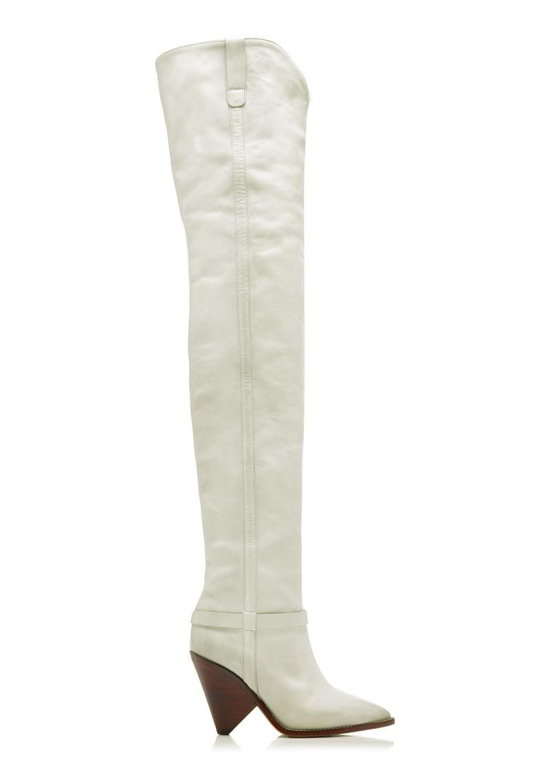 3556ea01b1b Isabel Marant Isabel Marant Lafsten Leather Boots