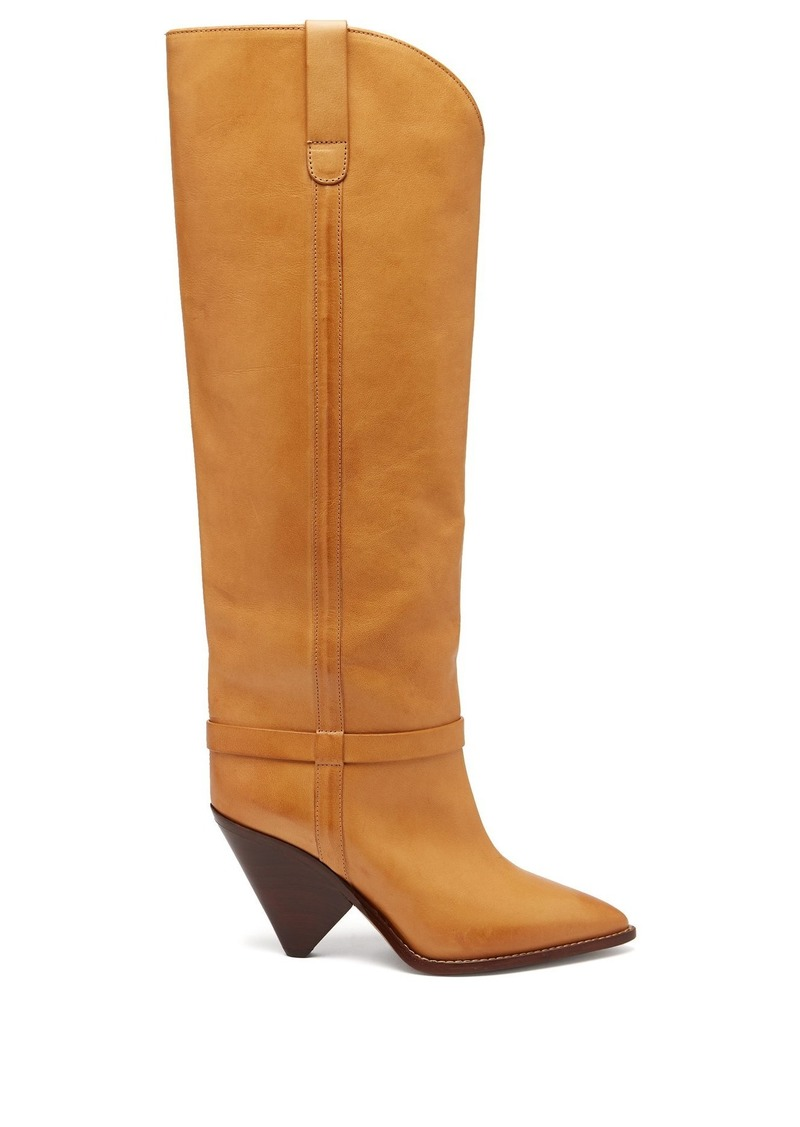 d0018e1d84a Isabel Marant Isabel Marant Lafsten thigh-high leather boots