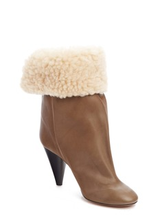Isabel Marant Lakfee Slouch Boot with Genuine Shearling Lining (Women)