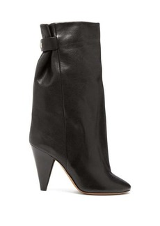 Isabel Marant Lakfee slouched leather boots