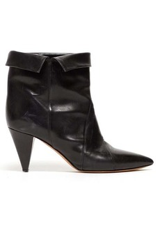 Isabel Marant Larel leather ankle boots