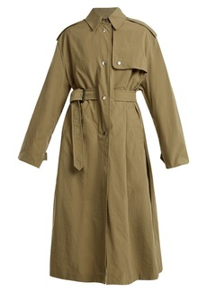 Isabel Marant Lawney tie-waist trench coat