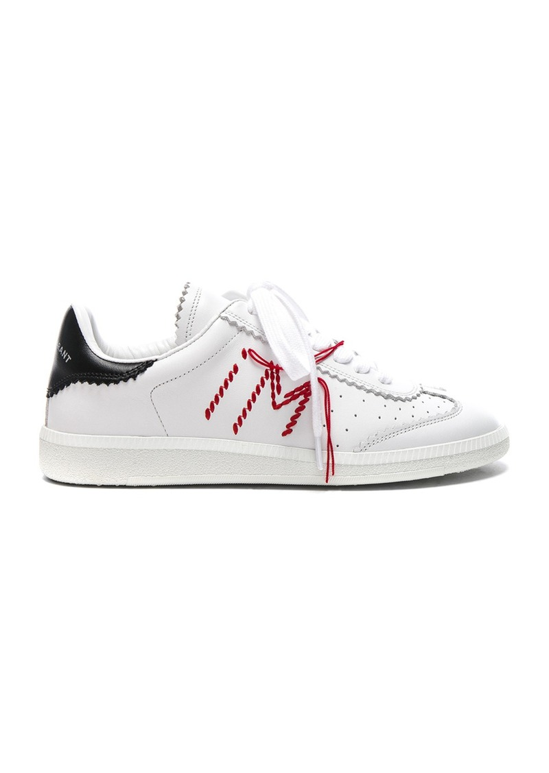 Chaussures De Sport À Lacets Métalliques Isabel Marant Bryce s1lhBRsW