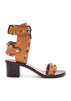 Isabel Marant Leather Jaeryn Sandals