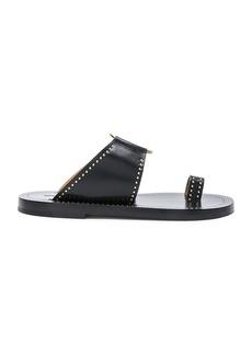 Isabel Marant Leather Jeppy Studded Sandals