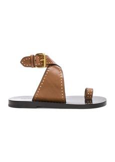 Isabel Marant Leather Jools Sandals