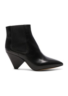 Isabel Marant Leather Lashby Low Boots