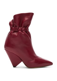 Isabel Marant Leather Lileas Boots