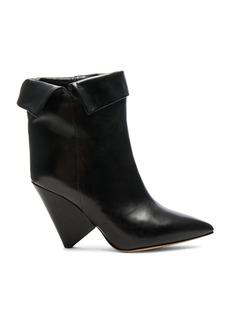 Isabel Marant Leather Luliana Ankle Boots