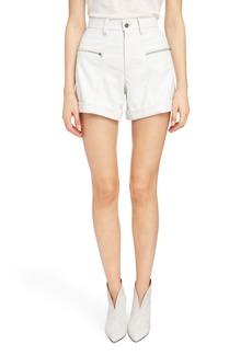 Isabel Marant Leather Shorts