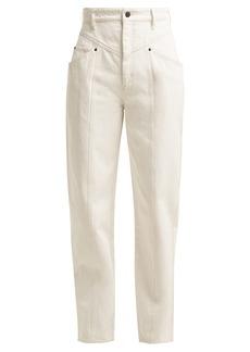 Isabel Marant Lenie high-waist jeans