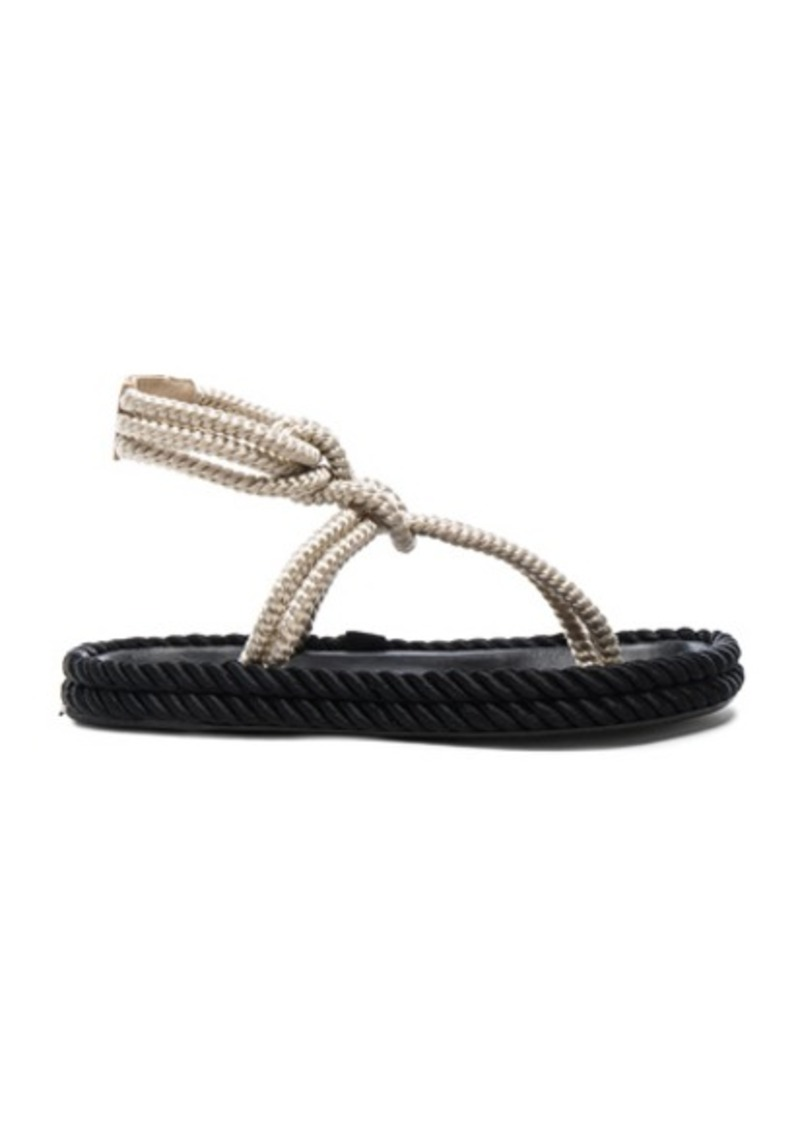 Isabel Marant Lesley Rope Sandals