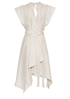 Isabel Marant Lief wrap-front silk dress