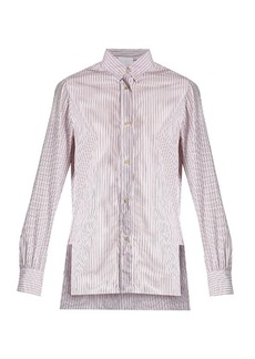 Isabel Marant Lilianne striped cotton shirt