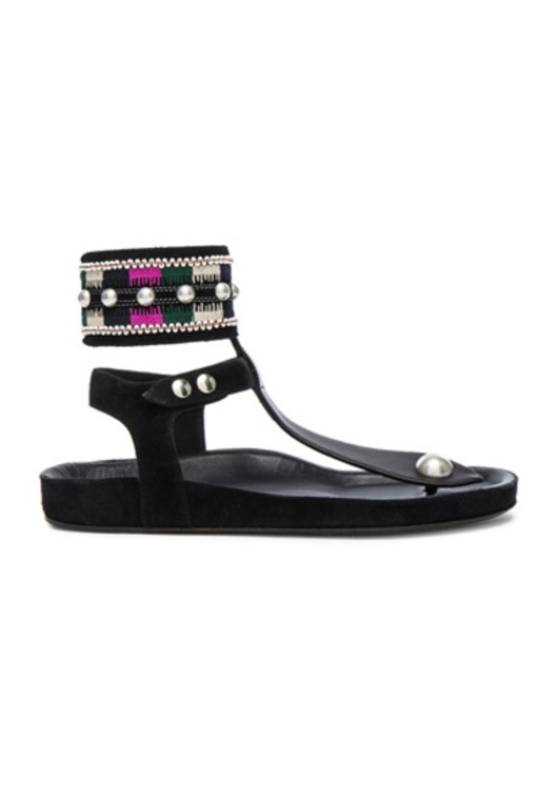 Isabel Marant Lise Embroidery Sandals