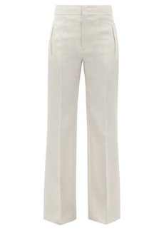 Isabel Marant Lokia straight-leg wool trousers