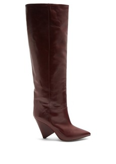 Isabel Marant Loko smooth-leather knee-high boots