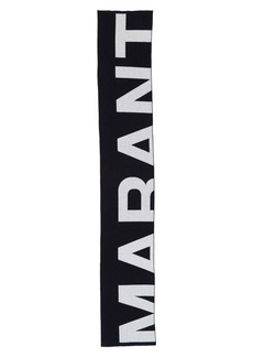Isabel Marant Loli Logo Blanket Scarf