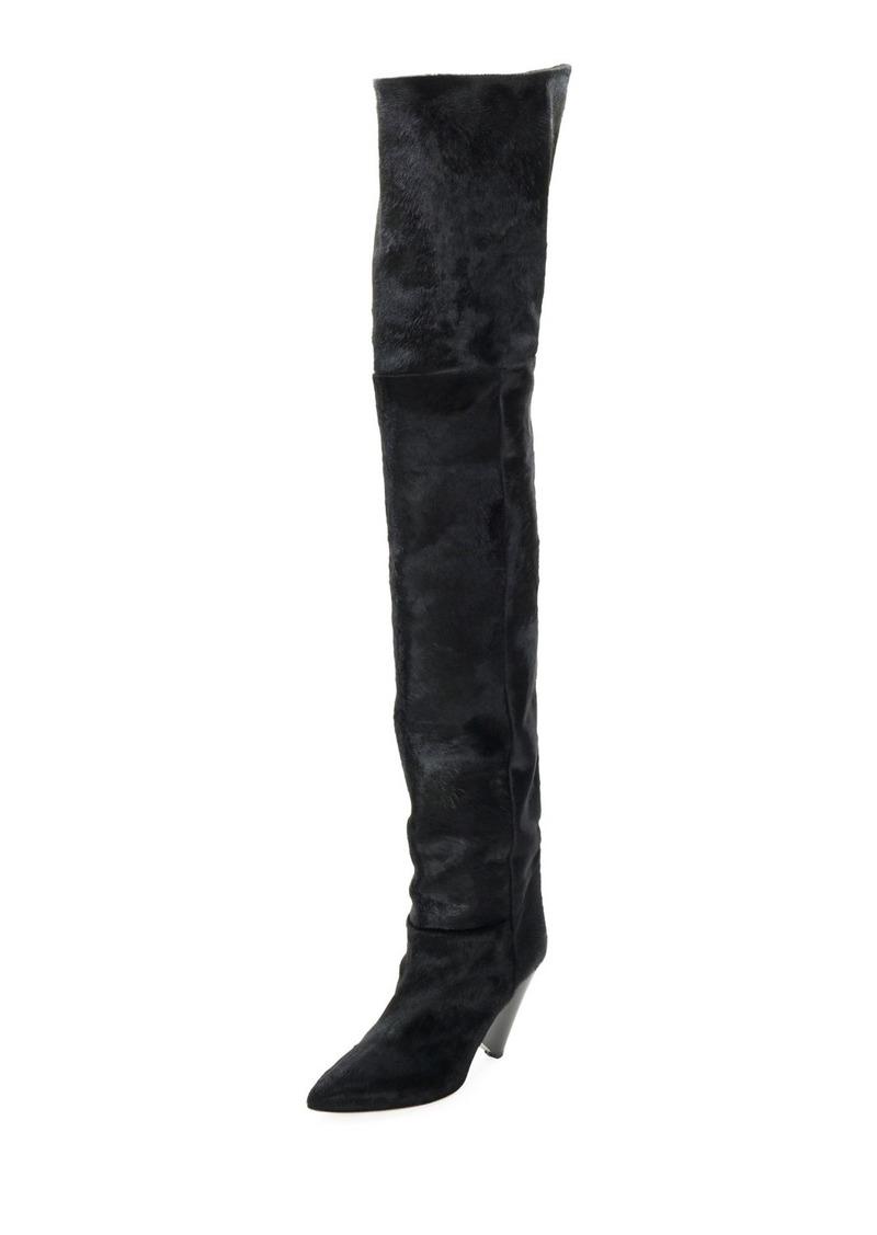 797b3d4ff21 Isabel Marant Lostynn Over-The-Knee Fur Boot
