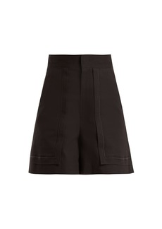 Isabel Marant Lucky high-rise cotton-blend shorts