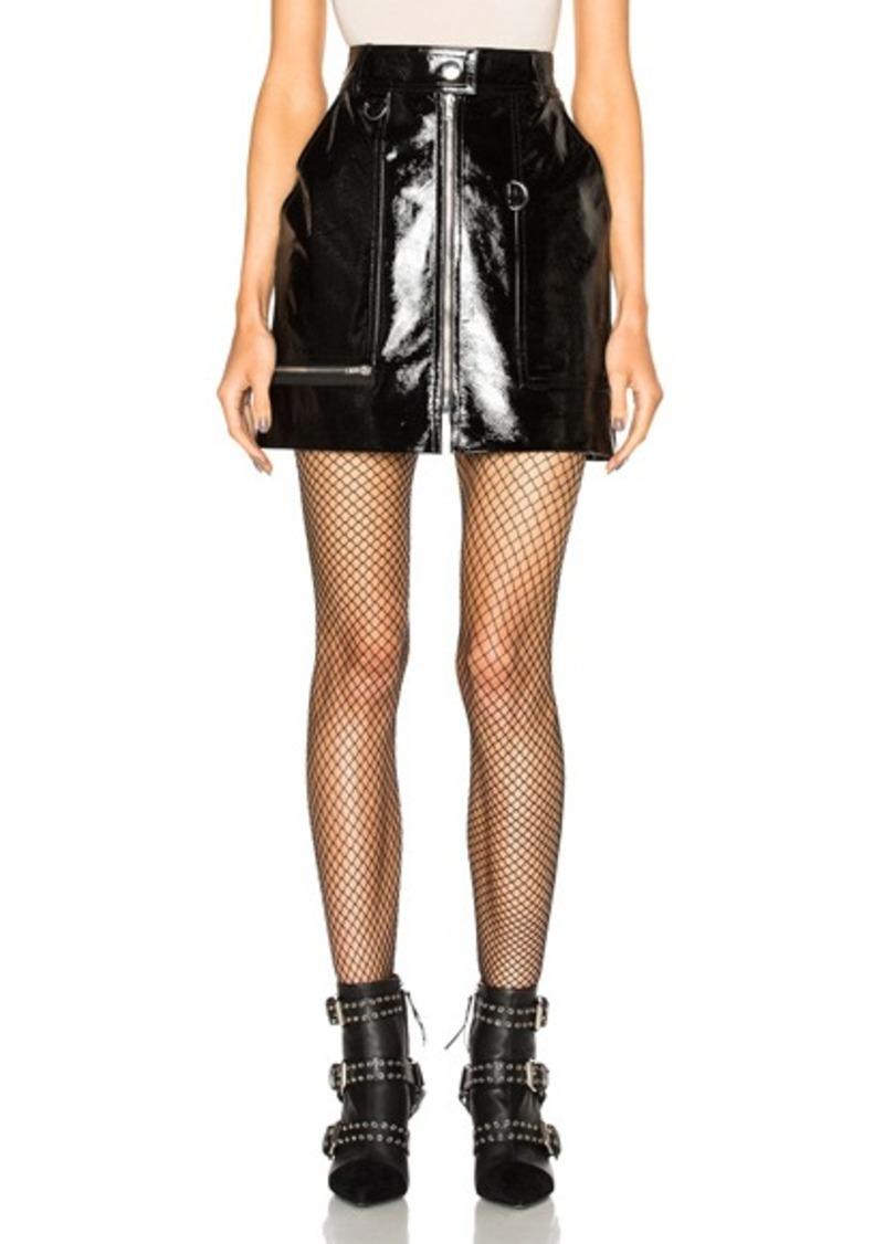 Isabel Marant Lynne Patent Leather Skirt