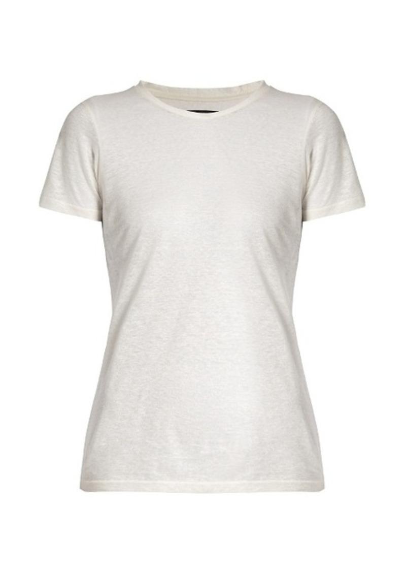 Isabel Marant Madras linen T-shirt