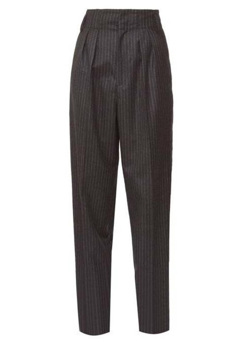 Isabel Marant Magali pinstripe wool trousers