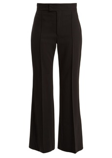 Isabel Marant Mansfield high-rise wide-leg wool trousers