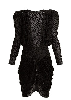 Isabel Marant Margaret fil-coupé chiffon dress