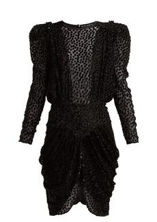 Isabel Marant Margaret fil-coupé chiffon dress