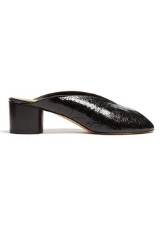 Isabel Marant Measha cracked-leather mules