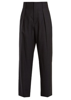 Isabel Marant Meddy Prince of Wales-checked wool trousers