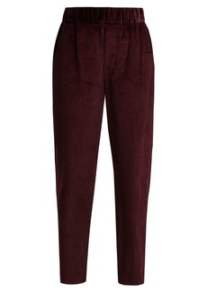 Isabel Marant Meloy high-rise corduroy trousers