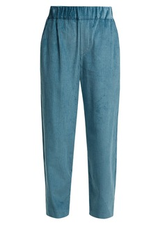 Isabel Marant Meloy high-waisted corduroy trousers