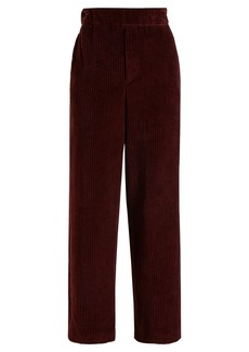 Isabel Marant Mereo high-rise corduroy trousers