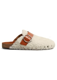 Isabel Marant Mirvin backless leather clogs