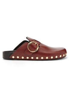 Isabel Marant Mirvin stud-embellished leather clogs