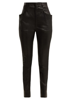 Isabel Marant Modena skinny leather trousers