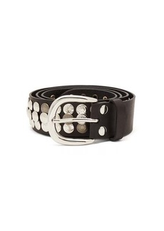 Isabel Marant Moha studded leather belt