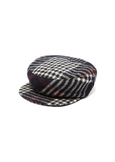 Isabel Marant Naly plaid wool-felt cap