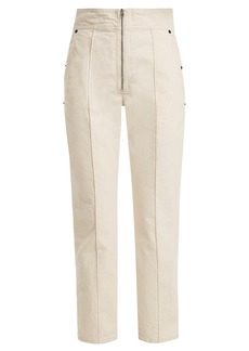 Isabel Marant Namiris high-rise cotton trousers