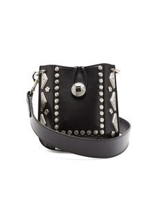 Isabel Marant Nasko studded-leather cross-body bag