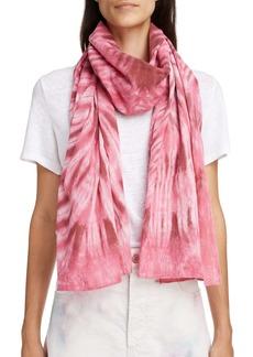 Isabel Marant Nassau Tie Dye Cotton Scarf