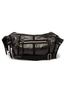Isabel Marant Nawey patent-leather shoulder bag