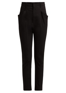 Isabel Marant Naylor high-rise cotton-blend trousers
