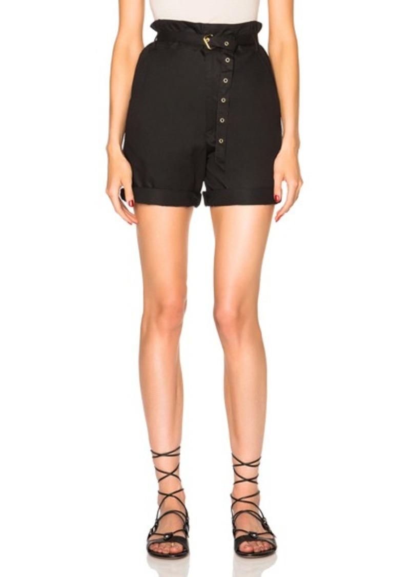 Isabel Marant Neddy Chic Poplin Shorts