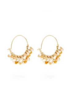Isabel Marant New Leaves hoop earrings