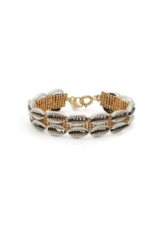 Isabel Marant New Pool shell-embellished bracelet