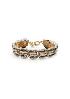Isabel Marant New Pool shell-embellished bracelet