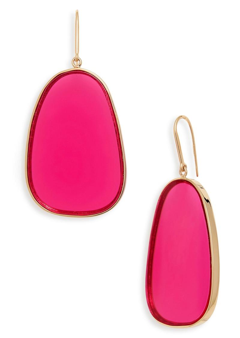 Isabel Marant Nex Plexi Drop Earrings